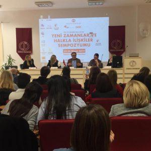 """25 – 26 Nisan'da Eskişehir Anadolu Üniversitesi'nde düzenlenen """"Yeni Zamanlar ve Halkla İlişkiler Sempozyumu""""nda """"Post Truth"""" kavramı 41 bildiri ile tartışıldı"""